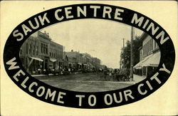 Welcome To Our City Sauk Centre Minn