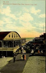 Entrance To Ocean City Pier