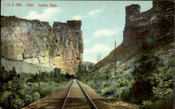 Castle Gate Postcard