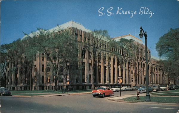 S.S. Kresge Bldg. Detroit Michigan