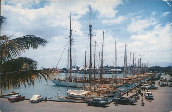 Transpacific Yachts at Kewalo Basin Honolulu Hawaii