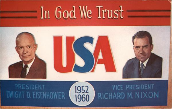In God We Trust USA Presidents