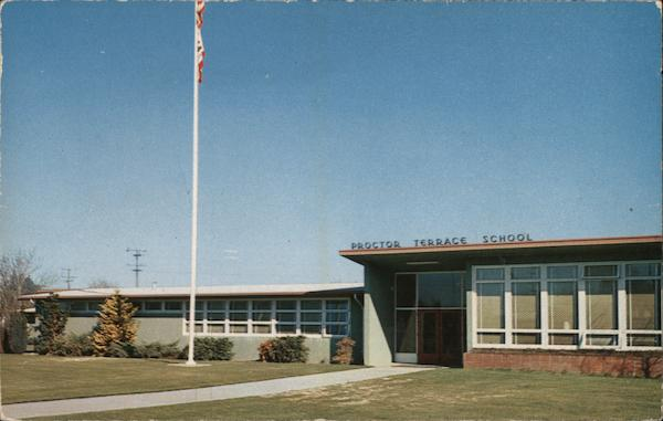 Proctor Terrace Elementary School - One of several in the area Santa Rosa California