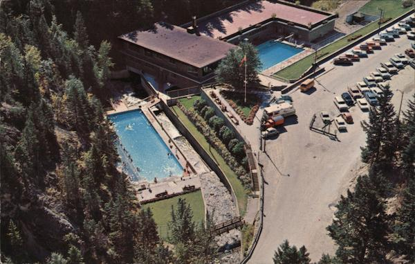Radium Aqua Court Radium Hot Springs British Columbia Canada