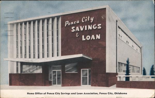 Ponca City Savings & Loan Oklahoma