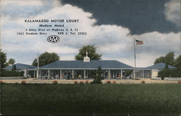 Kalamazoo Motor Court Michigan
