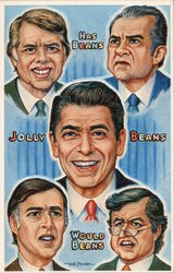 The Beans: Caricatures of Political Figures