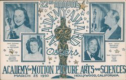 1950 Academy of Motion Picture Arts and Science, 22nd Annual Academy Award - Oscars