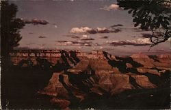 Sunset On The Grand Canyon Of Northern Arizona Postcard