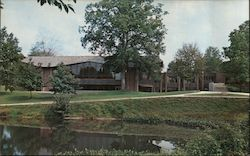 Hulman Memorial Student Union, Rose Polytechic Institute Postcard