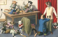 Cats in Tailor Shop