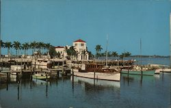 Colorful Memorial Pier Postcard