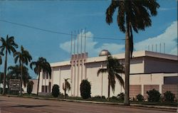 Bishop Planetarium Postcard