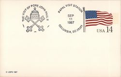 First Day Cover: The Visit of Pope John Paul II