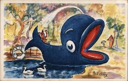 Willie the Blue Whale by Fred Lewy