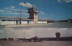Airport From Chihuahua City Postcard