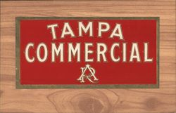 Tampa Commercial Cigar Label