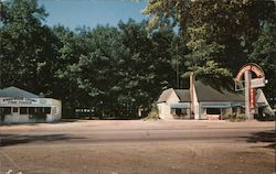 Edgewood Court Postcard
