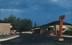 Davis Court Motel Postcard