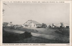 Voila's Tourist Camp on Highway 40, Abilene, Kansas