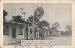 West Florida Tourist Court Postcard