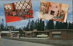 Pine Cone Motor Lodge Postcard