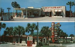 Rip Tide Motel and Apartments Postcard