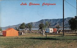 Camping on Lake Elsinore