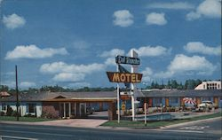 Del Rancho Motel Postcard
