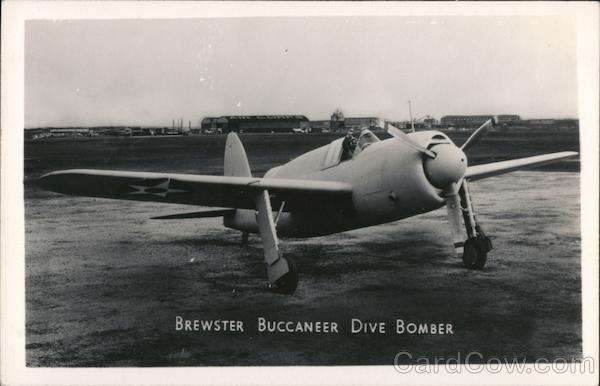 Brewster Buccaneer Dive Bomber Aircraft