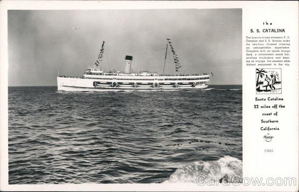 The S.S. Catalina Ferries
