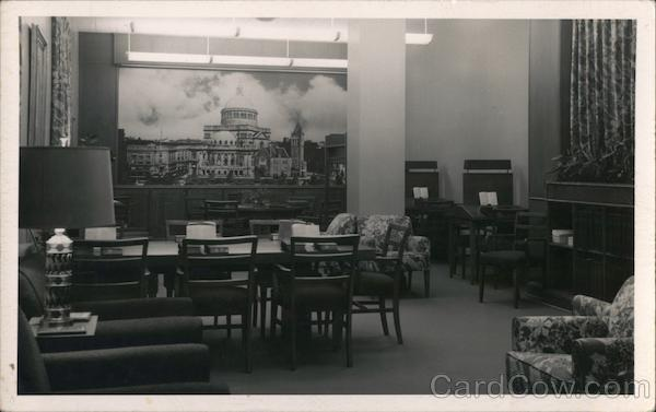 Reading Room in Library Buildings