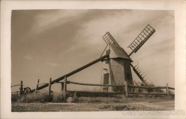 Brewster's Windmill Massachusetts