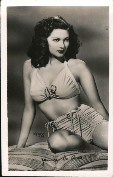 Yvonne De Carlo in swim suit Actresses