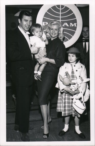 Jane Mansfield Family 1959 Actresses