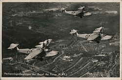 Verkenningsvliegtuigen der Royal Air Force (RAF) Postcard