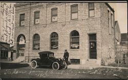Car In Front of Farmer's Bank