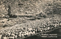 Ramona Pageant Postcard