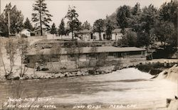 Bend Auto Court Postcard