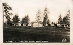 City Limit Auto Camp Postcard