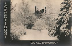 The Hill Sanitarium in the Snow