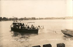 Mac's Perch Fishing Boat Postcard