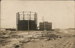 Gas Works Postcard