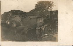 Train Engine on Side 9/12/1910