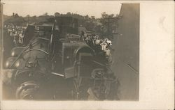 Wrecked Train Engine September 12, 1910