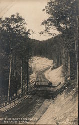 Up the Eastern Slope Mohawk Trail Postcard