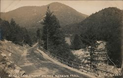 Near Charlemont on the Mohawk Trail Postcard