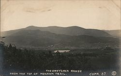 The Greylock Range View From the Top of Mohawk Trail Postcard