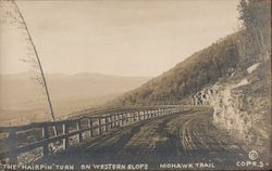 "The ""Hairpin"" Turn on Western Slope Mohawk Trail"