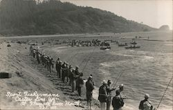 Sport Fishermen, Klamath River Mouth